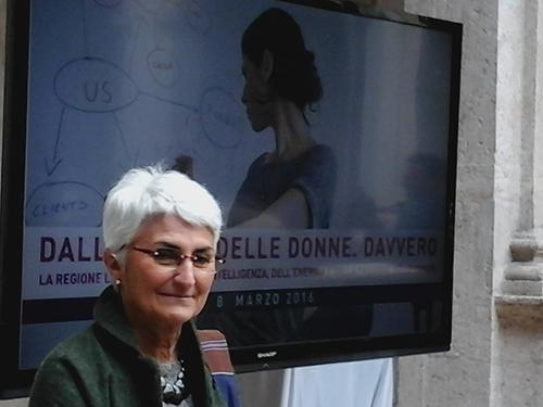 Premio Regione Lazio, 8 marzo 2016: Marta De Paolis