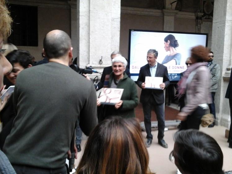Premio Regione Lazio, 8 marzo 2016: Marta ritira il premio