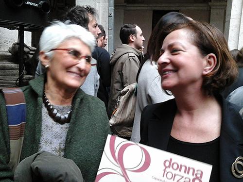 Premio Regione Lazio, 8 marzo 2016: Sonia e Marta