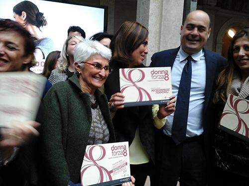 Premio Regione Lazio, 8 marzo 2016: foto di gruppo, da Presidente a Presidente