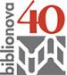 Logo Biblionova 40 anni